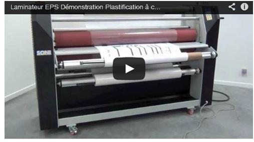 video laminateur eps distribution plastification à chaud