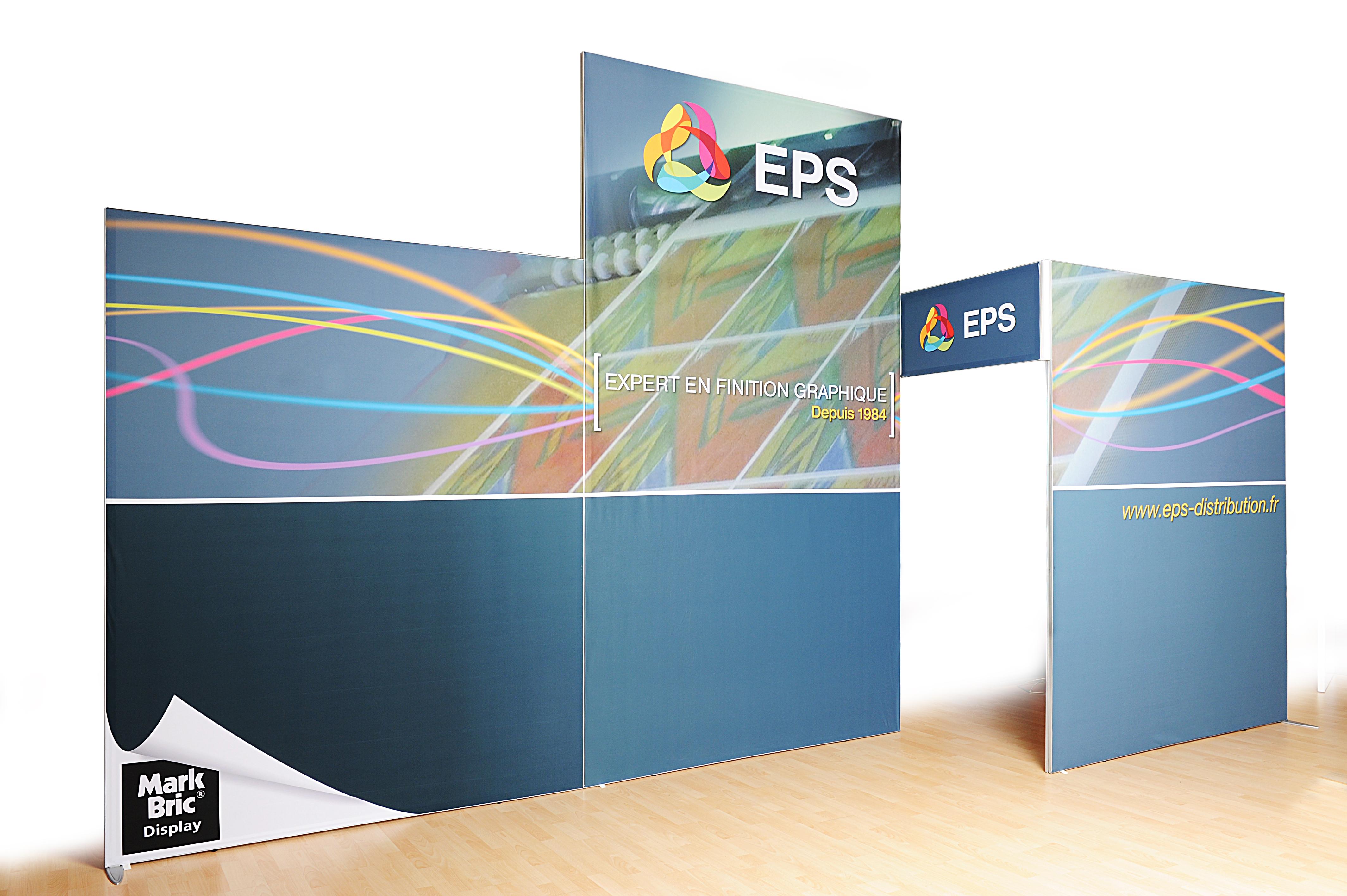 EPS Viscom stand isofram fabric textile